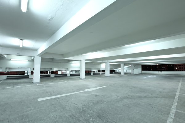 A commercial client based in Burnaby to create a concrete based parking lot.